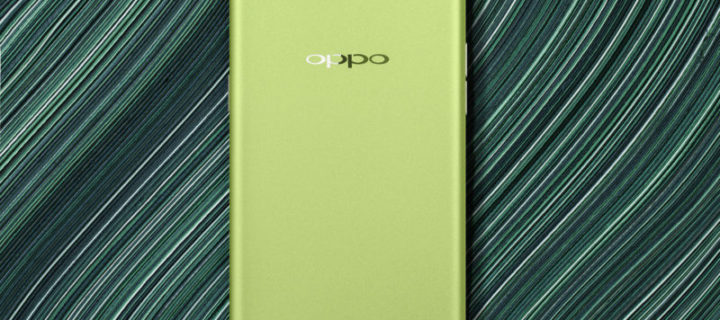 You can now buy OPPO's R9s in green