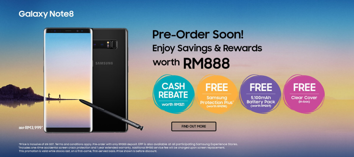 Samsung Malaysia announces pricing and preorder details for