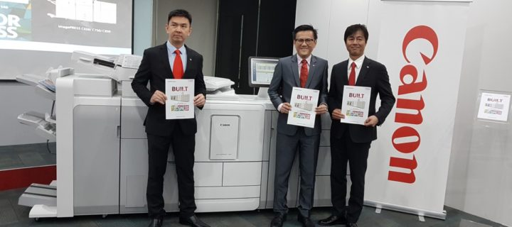 Canon's latest varioPRINT and imagePRESS series commercial printers mean business