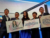Song Ji-Hyo rocks Pavilion Mall at Galaxy Note8 Malaysia launch