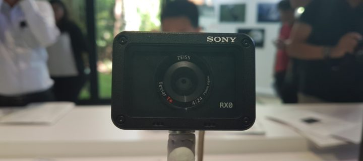 Sony's ultra tough new RX0 offers pro-level optics in a crushproof and waterproof body for RM3,199