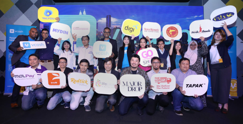 Some of the merchants that will accept vcash a new e-wallet service initiated by Digi and Valyou Sdn Bhd