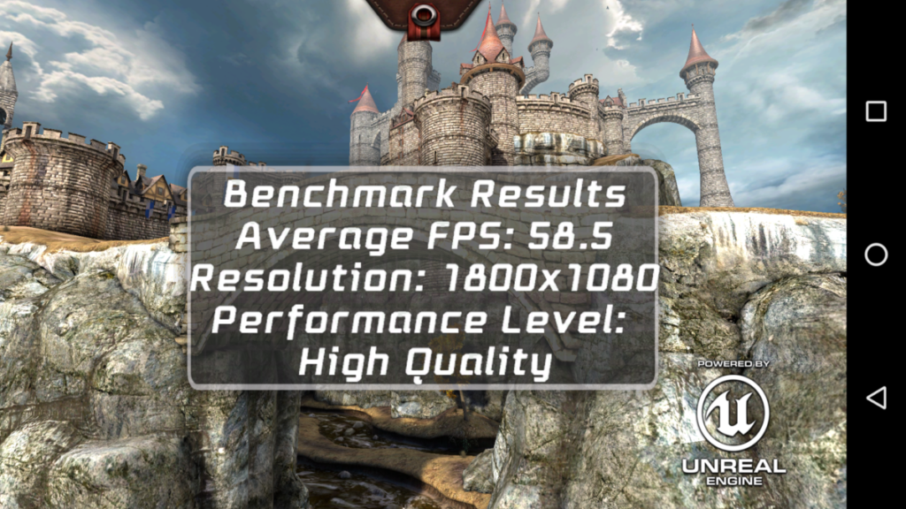Epic CItadel benchmark for GM 5 Plus
