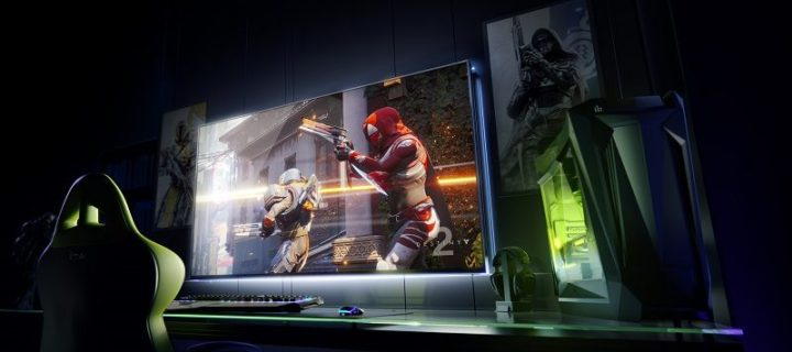 NVIDIA goes big with BFGD screen for gaming at CES 2018