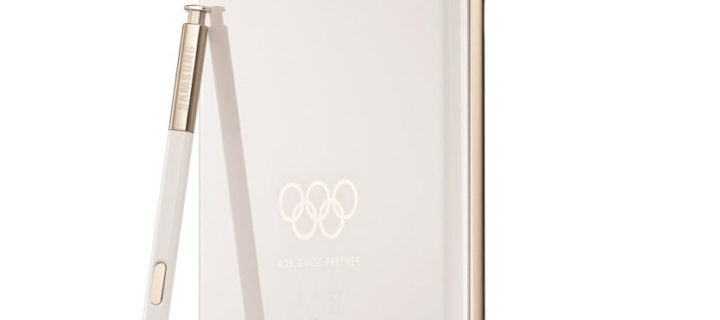 Samsung releases Olympic Winter games limited edition Galaxy Note8