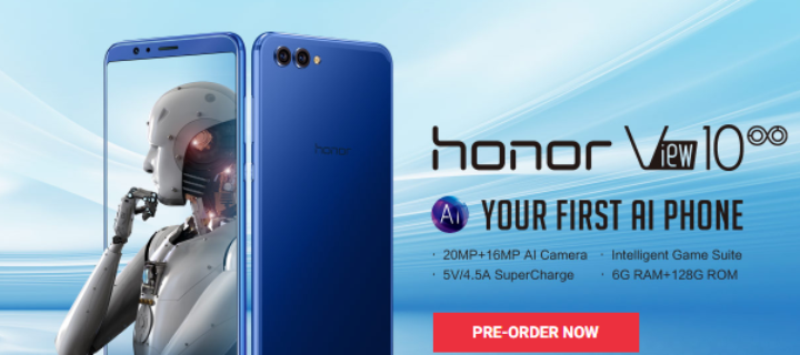 honor View10 launching in Malaysia for RM2,099