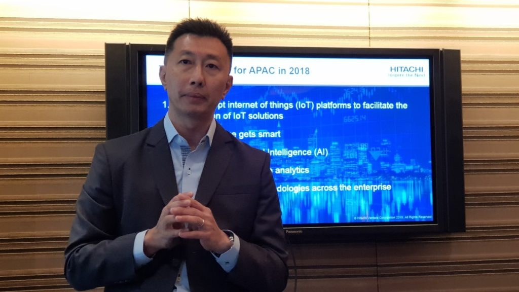 Mr. KC Phua, Director of Hitachi Vantara