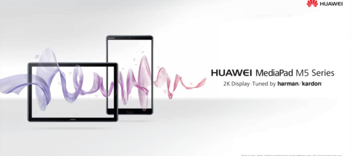 Huawei launches MediaPad M5 and MateBook X Pro at MWC2018