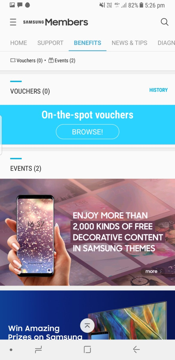The new Samsung Members app is available for download  