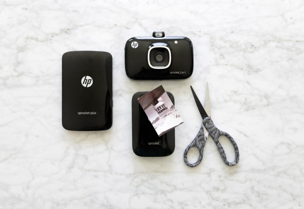 The HP Sprocket Plus and the Sprocket 2-in-1