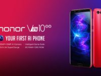 The honor View10 in Crush Red up for preorders in Malaysia