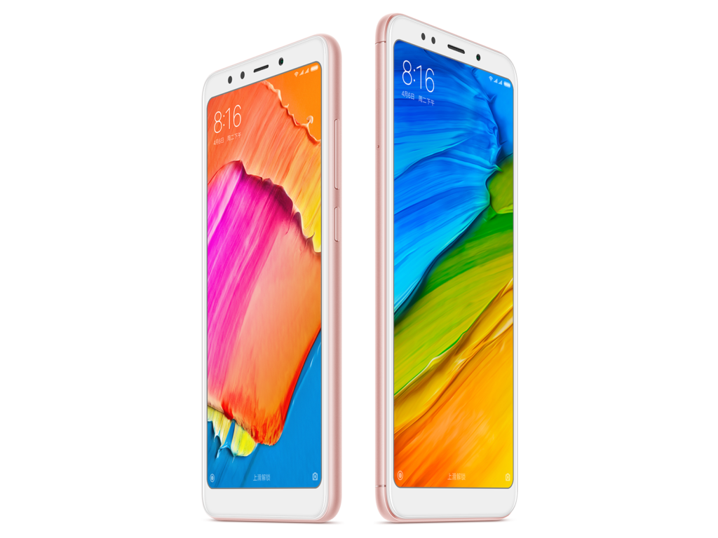 The Xiaomi Redmi 5 and Redmi 5 Plus