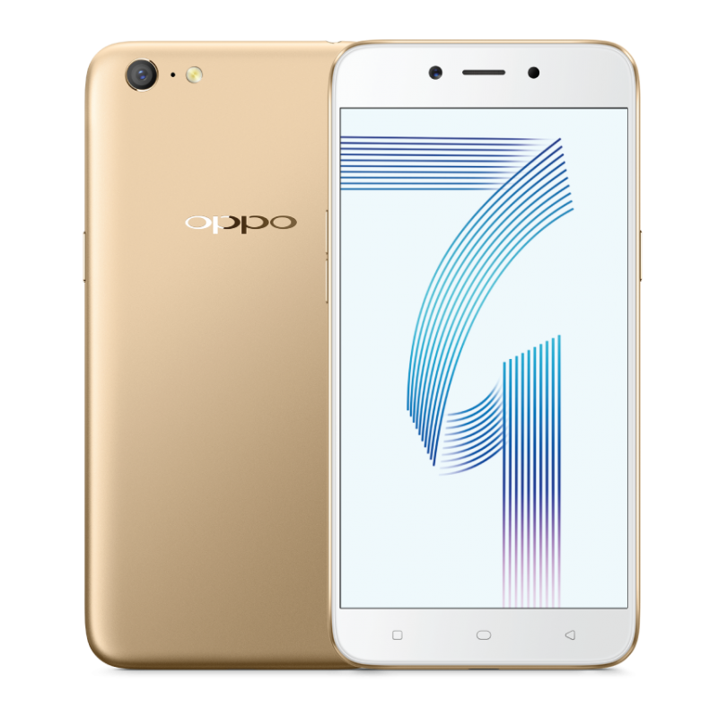 OPPO A71 front back