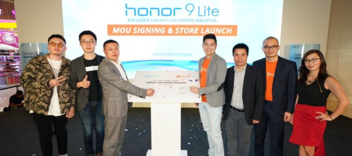 1500 honor 9 Lite phones sold out in minutes after launch on Shopee