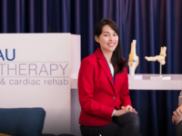 Getting a physiotherapy appointment now is as easy as pressing a button