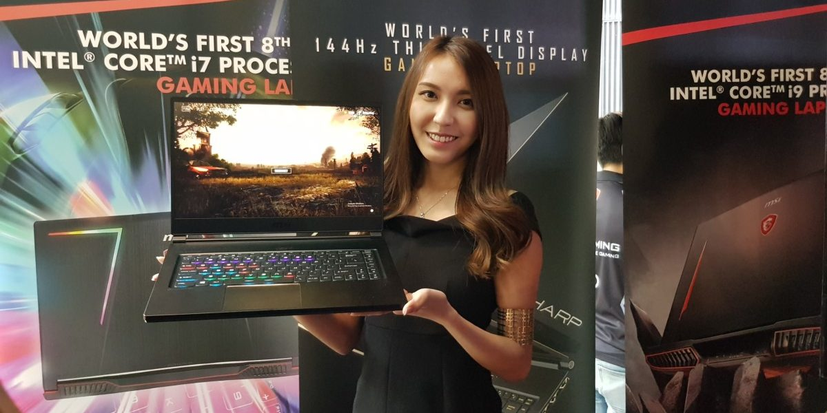 Up close with the exquisitely slim MSI GS65 Stealth Thin gaming notebook
