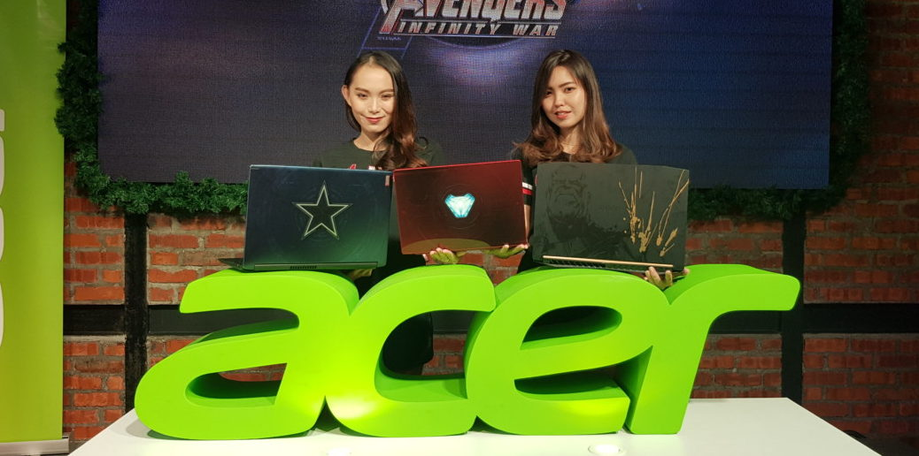 Acer debuts Marvel Avengers Infinity War themed Swift 3, Aspire 6 and Nitro 5