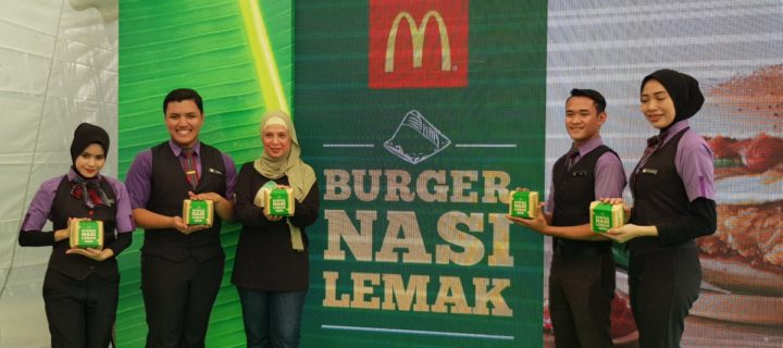 Mcdonald's Nasi Lemak burger reimagines an old favourite in a new way