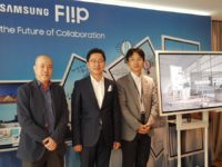 Meetings are going digital with the Samsung Flip digital whiteboard