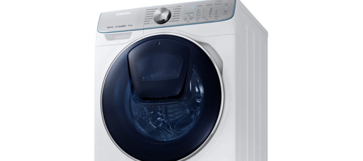 This new Samsung QuickDrive washing machine cuts laundry time in half