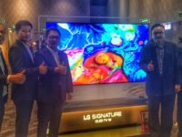 LG showcases latest line-up of home appliances and the W8 OLED TV