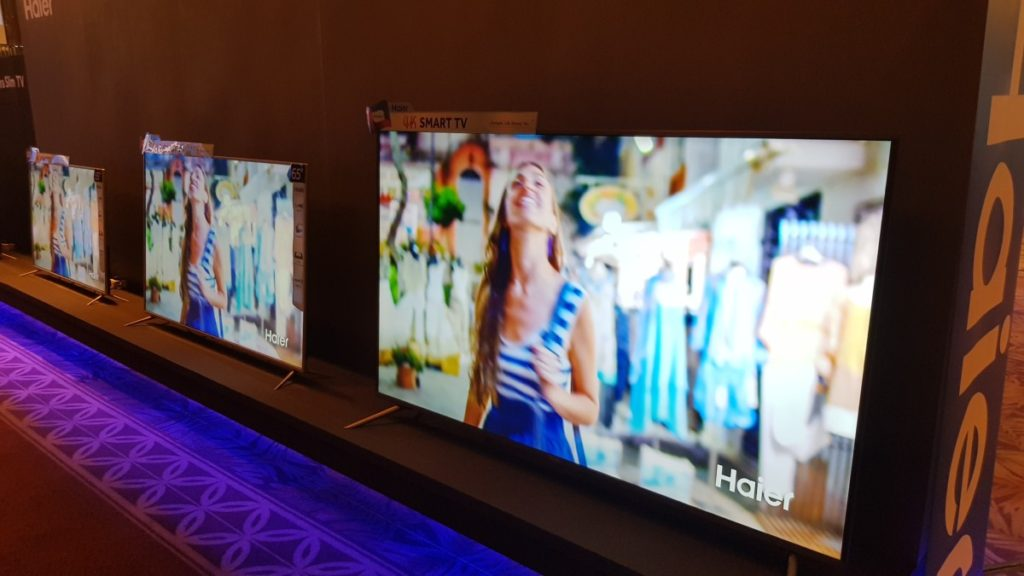 Haier rolls out their latest line-up of home appliances