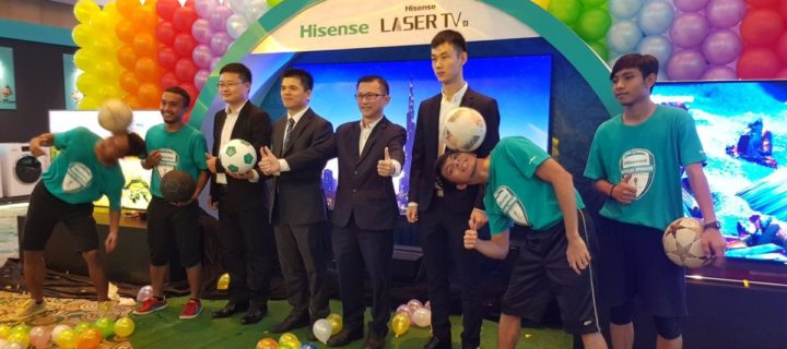 Hisense introduces limited edition World Cup U9A, U7A and Laser TV to Malaysia