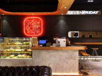 Timepieces and coffee meet at the new SevenFriday Space