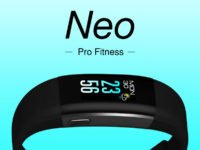 Olike Weloop Neo fitness tracker offers two weeks of battery life