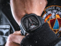 This SEVENFRIDAY M3/01 Spaceship timepiece is out of this world