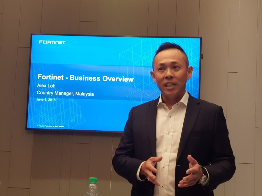 Alex Lim, Fortinet