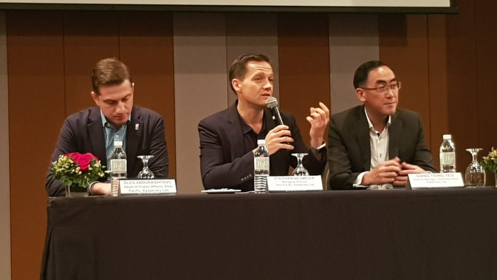 Stephan Neumeier, Managing Director of Kaspersky Lab Asia Pacific