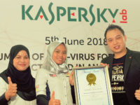 Kaspersky Lab sets Malaysian record for mobile antivirus activations at an event