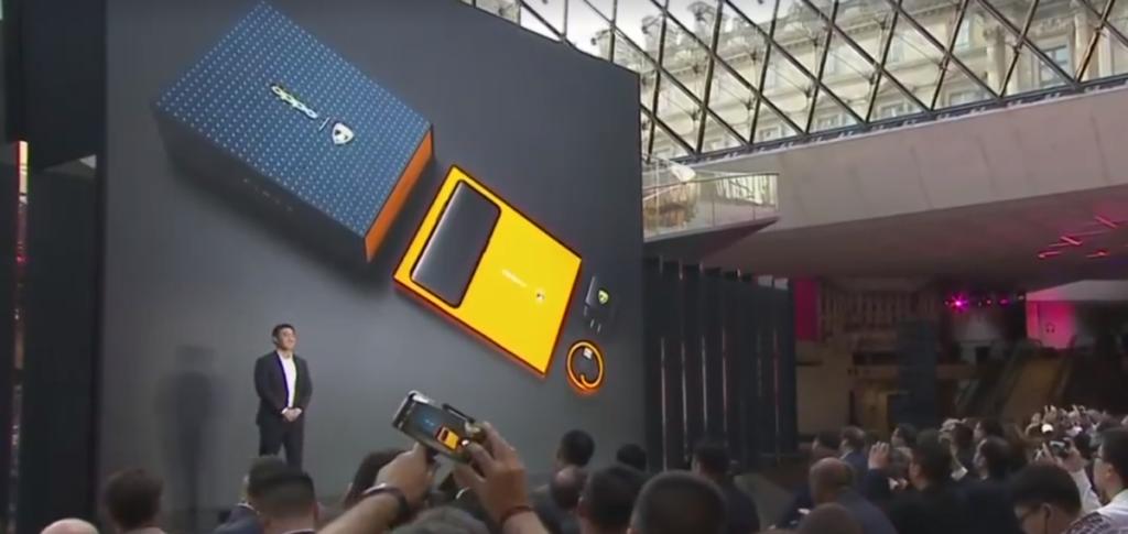 The Find X Automobili Lamborghini edition will ship with an elaborate box