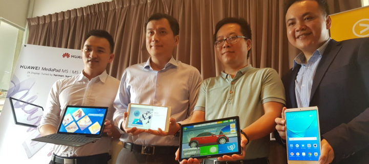 Huawei launches MediaPad M5 series slates in Malaysia