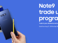 Time to chuck your old phone with the Galaxy Note9 trade up programme