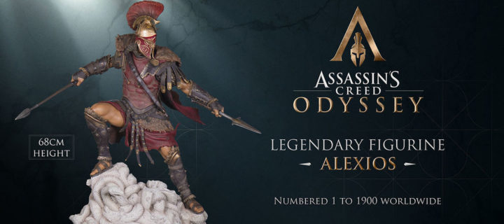 Gaze upon this sweet looking limited edition Alexious figure for Assassin's Creed Odyssey