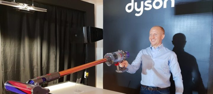 Dyson unveils the powerful yet light cordless Cyclone V10 vacuum cleaner