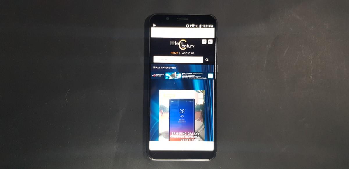 Zenfone Max Pro (M1) front