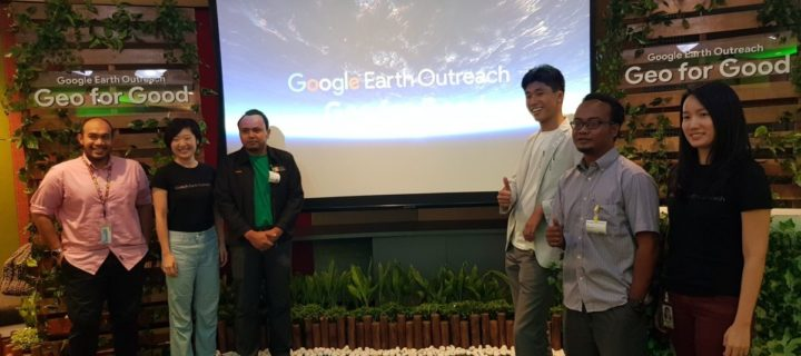 NGOs share stories of positive change with Google Earth Outreach programme
