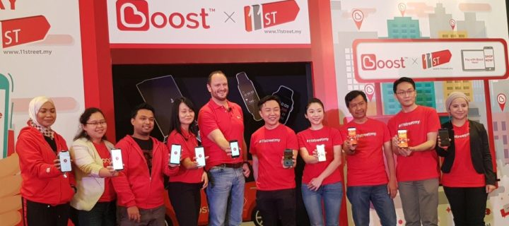 You can now pay for purchases with Boost eWallet on 11street