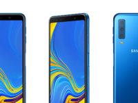 Samsung Galaxy A7 announced with triple camera
