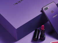 OPPO teams up with Shiseido to create the OPPO F9 Starry Purple limited edition gift box