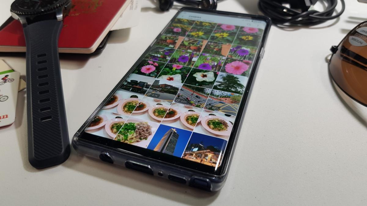 Galaxy Note9 Gallery demo