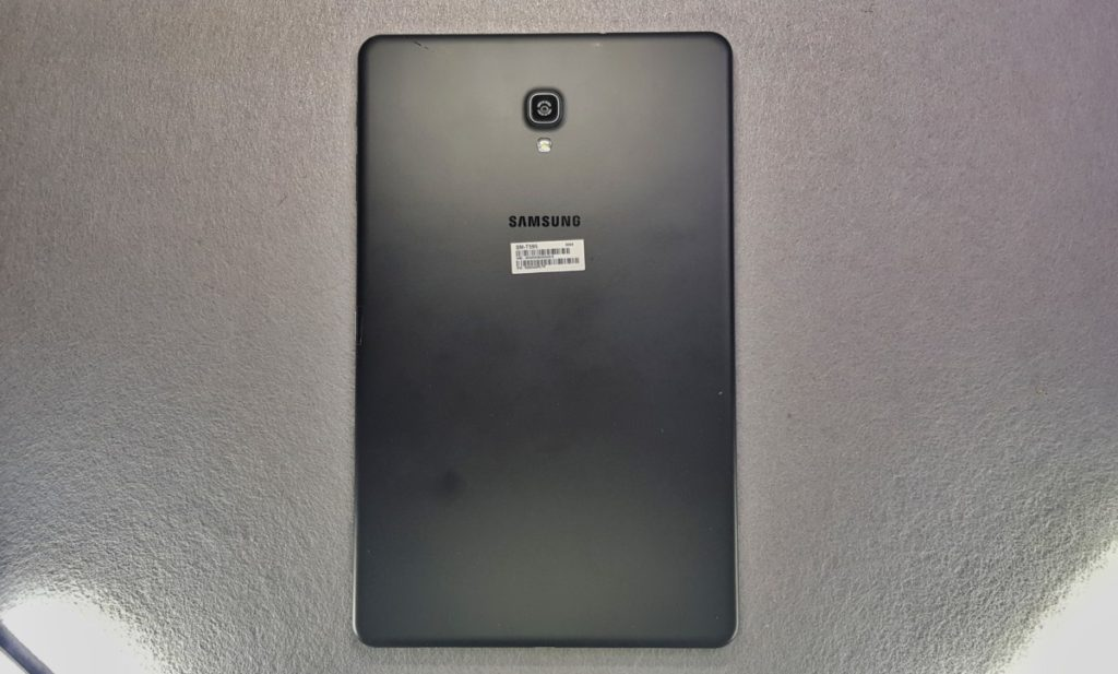 Galaxy Tab A 10.5 2018 tablet rear