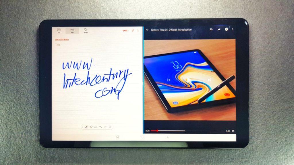 Galaxy Tab A 10.5 2018 tablet landscape