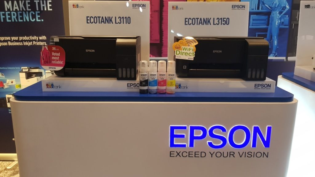 New Epson EcoTank printers launched in Malaysia | - Gadgets