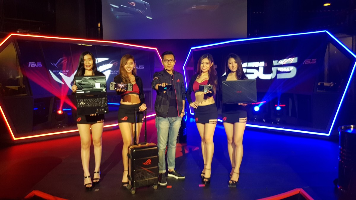 Asus launches ROG Phone, TUF FX505 and TUF FX705 series gaming notebooks in Malaysia