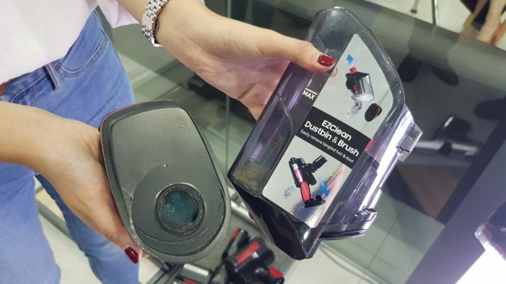 Samsung POWERstick PRO dust bin