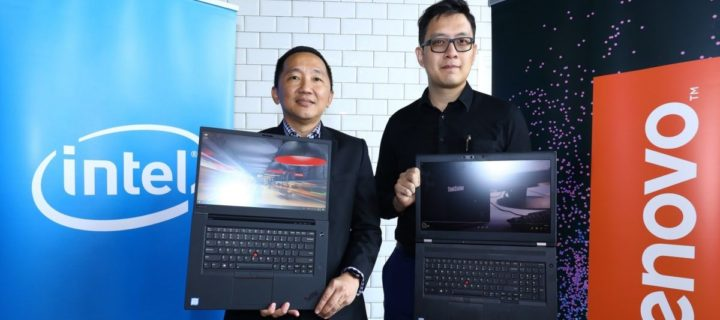 Lenovo launches ThinkPad P1 and ThinkPad P72 workstations in Malaysia